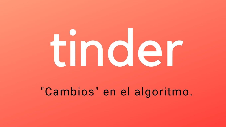 tinder algoritmo