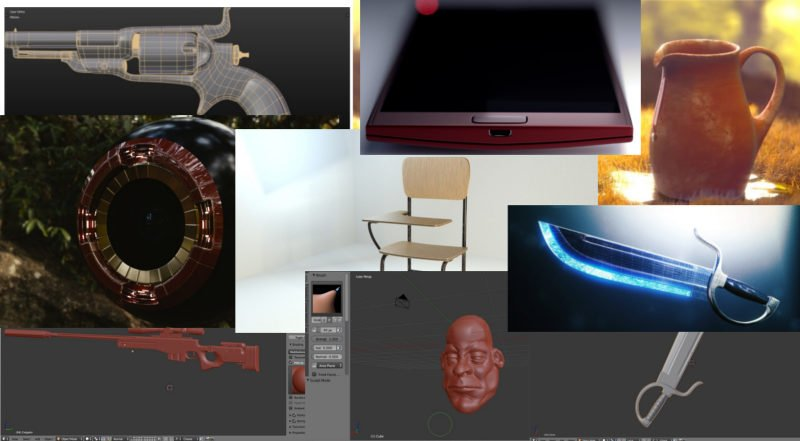 Modelos y renders 3d
