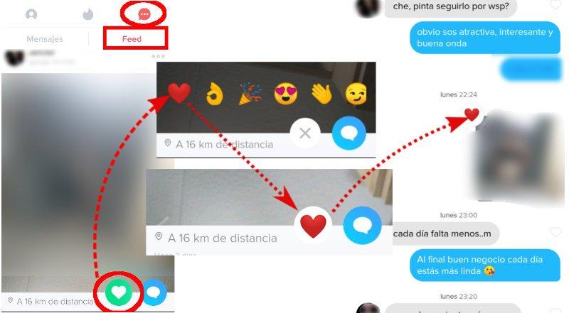 Así puedes usar los emojis del feed de Tinder